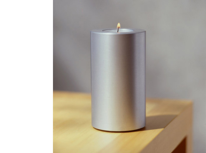 contemporary design object tealight holder - shaft